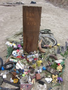 The Memorial for the Kids who died in the fire